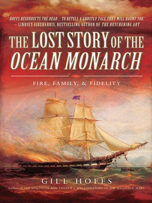 cover image of The Lost Story of the Ocean Monarch