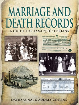 cover image of Birth, Marriage and Death Records
