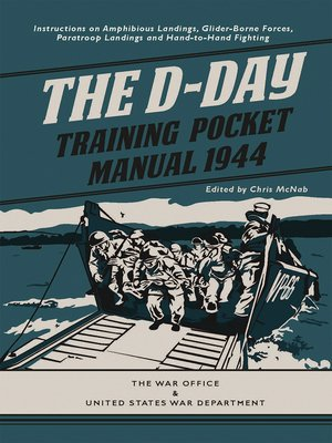 cover image of The D-Day Training Pocket Manual 1944