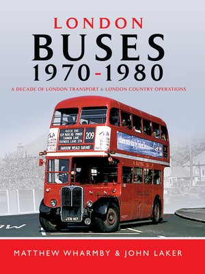 cover image of London Buses 1970–1980