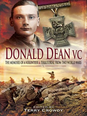 cover image of Donald Dean VC