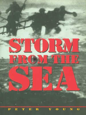 cover image of Storm from the Sea