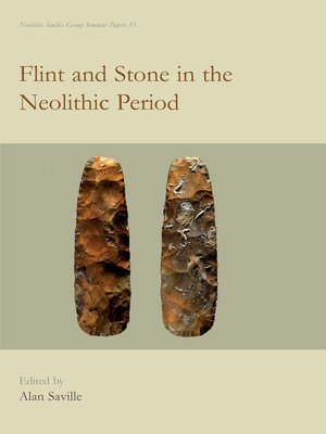 cover image of Flint and Stone in the Neolithic Period