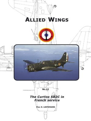 cover image of The Curtiss SB2C in French service