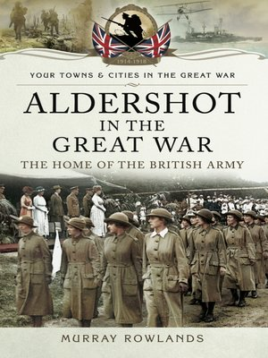 cover image of Aldershot in the Great War