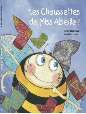 cover image of Les chaussettes de Miss Abeille