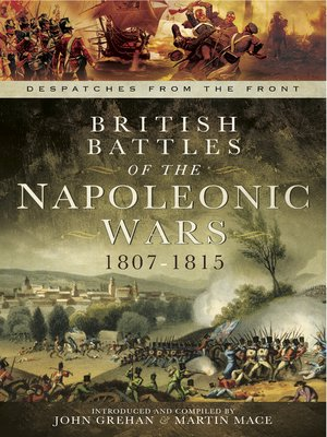 cover image of British Battles of the Napoleonic Wars 1807-1815