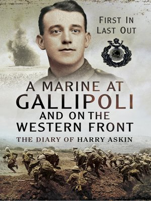 cover image of A Marine at Gallipoli on the Western Front