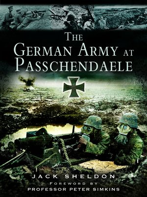 cover image of German Army at Passchendaele