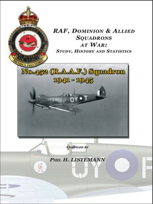 cover image of No. 452 (RAAF) Squadron 1941-1945