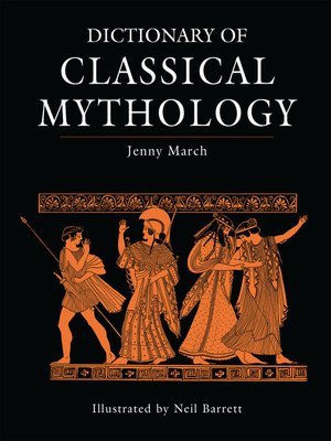 cover image of Dictionary of Classical Mythology