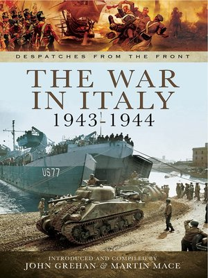 cover image of The War in Italy 1943-1944
