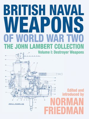 cover image of British Naval Weapons of World War Two