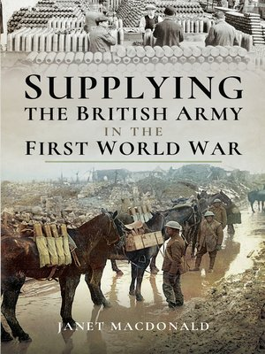 cover image of Supplying the British Army in the First World War