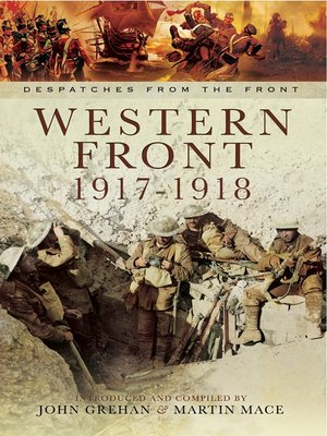 cover image of Western Front 1917-1918