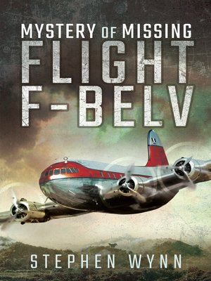 cover image of Mystery of Missing Flight F-BELV
