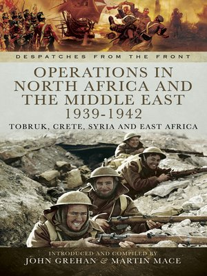 cover image of Operations in North Africa and the Middle East 1939-1942