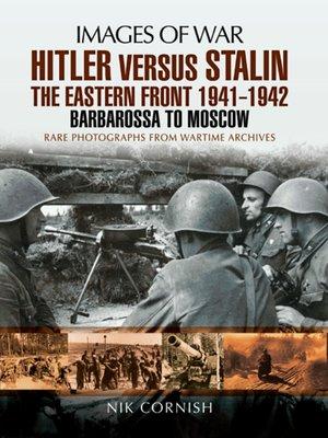 cover image of Hitler versus Stalin