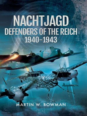 cover image of Nachtjagd, Defenders of the Reich 1940-1943