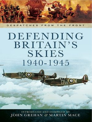cover image of Defending Britain's Skies 1940-1945