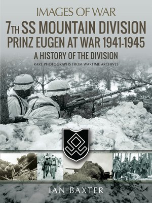cover image of 7th SS Mountain Division Prinz Eugen At War 1941–1945
