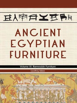 cover image of Ancient Egyptian Furniture Volume III