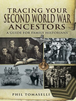 cover image of Tracing Your Second World War Ancestors