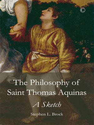 an introduction to the history of st thomas aquians Christian history institute (chi) thomas aquinas discovering aquinas: an introduction to his life, work and influence.