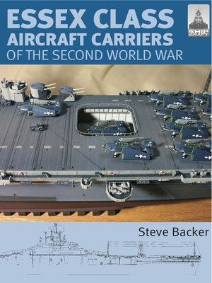 cover image of Essex Class Aircraft Carriers of the Second World War
