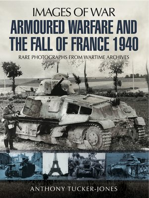 cover image of Armoured Warfare and the Fall of France