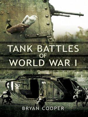 cover image of Tank Battles of World War I