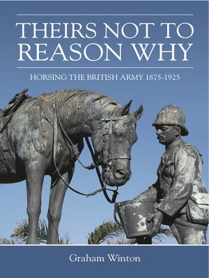 cover image of 'Theirs Not to Reason Why'