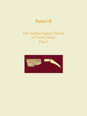cover image of Pseira IX