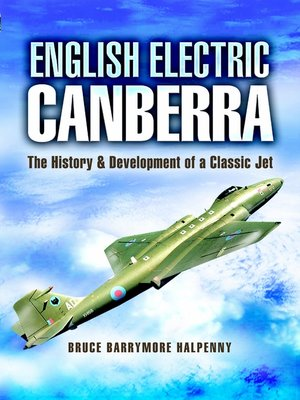 cover image of English Electric Canberra