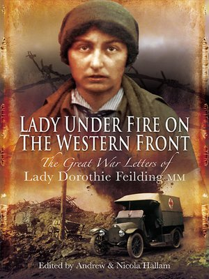 cover image of Lady Under Fire on the Western Front