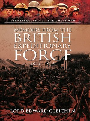 cover image of Memoirs from the British Expeditionary Force