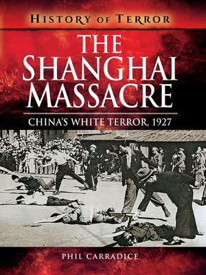 cover image of The Shanghai Massacre
