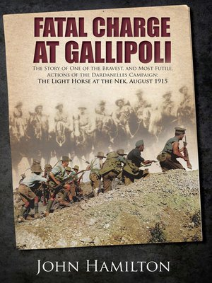 cover image of Fatal Charge at Gallipoli