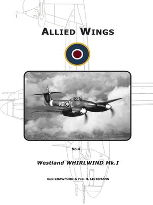 cover image of The Westland Whirlwind Mk.I