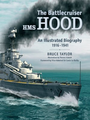 cover image of The Battlecruiser HMS HOOD
