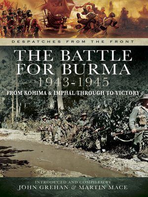 cover image of The Battle for Burma 1943-1945