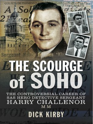 cover image of The Scourge of Soho