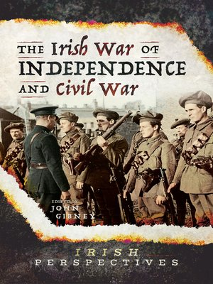 cover image of The Irish War of Independence and Civil War