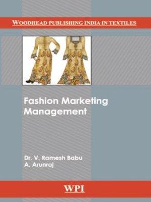 cover image of Fashion Marketing Management