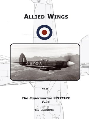 cover image of The Supermarine Spitfire F.24