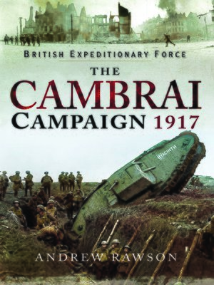 cover image of The Cambrai Campaign 1917