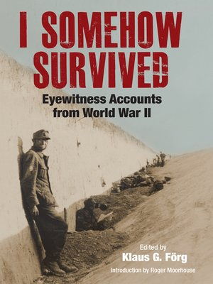 cover image of I Somehow Survived