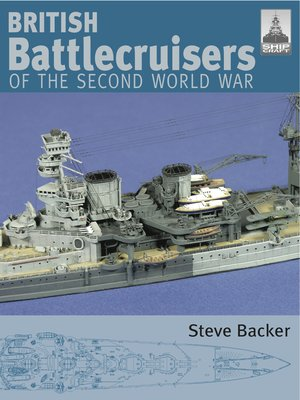 cover image of British Battlecruisers of the Second World War