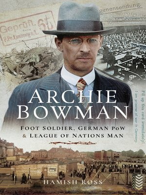 cover image of Archie Bowman