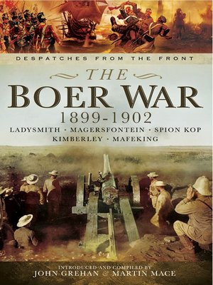 cover image of The Boer War 1899-1902